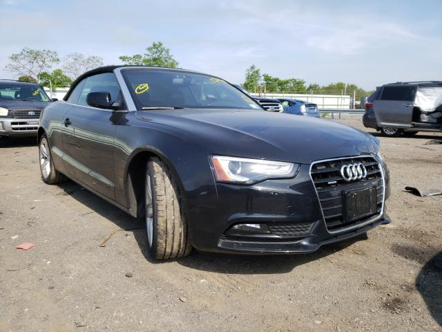Salvage cars for sale from Copart Brookhaven, NY: 2014 Audi A5 Premium