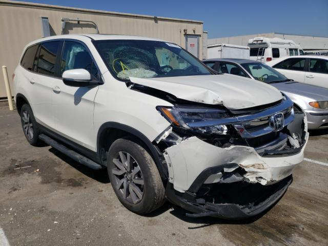 Salvage cars for sale from Copart Hayward, CA: 2019 Honda Pilot EXL