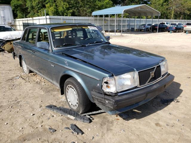 Salvage cars for sale at Midway, FL auction: 1989 Volvo 244 DL