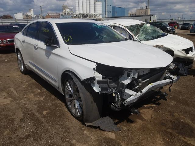 Salvage cars for sale from Copart Chicago Heights, IL: 2017 Chevrolet Impala PRE