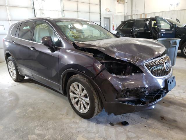 Vehiculos salvage en venta de Copart Columbia, MO: 2017 Buick Envision E