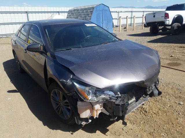 Salvage cars for sale from Copart Helena, MT: 2015 Toyota Camry LE
