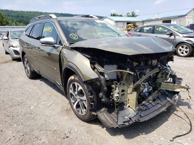 Salvage cars for sale from Copart Grantville, PA: 2020 Subaru Outback TO