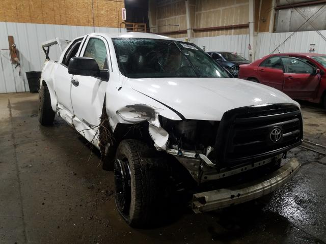 Salvage cars for sale from Copart Anchorage, AK: 2012 Toyota Tundra DOU
