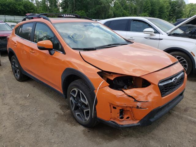 Salvage cars for sale from Copart Davison, MI: 2019 Subaru Crosstrek