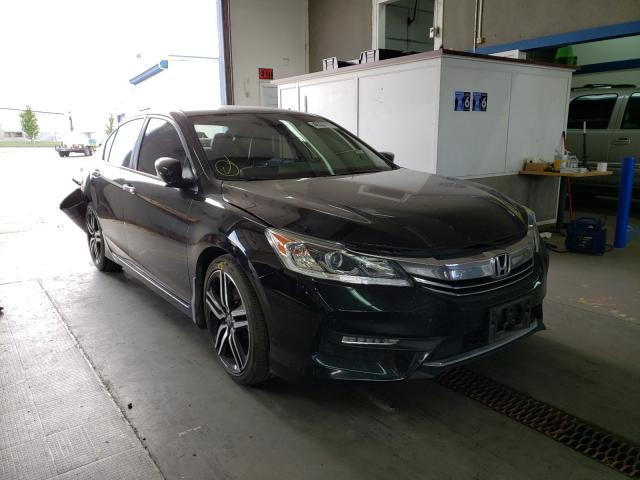 Salvage cars for sale from Copart Pasco, WA: 2016 Honda Accord Sport