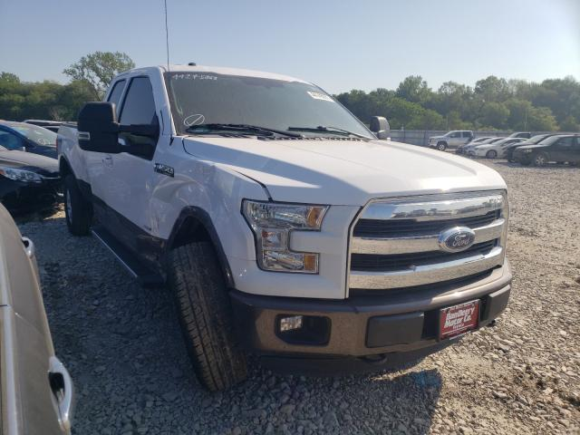 Salvage cars for sale from Copart Des Moines, IA: 2016 Ford F150 Super