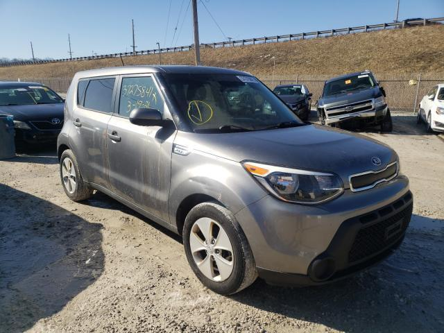 Salvage cars for sale from Copart Northfield, OH: 2016 KIA Soul