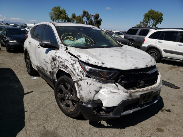 Vehiculos salvage en venta de Copart Martinez, CA: 2019 Honda CR-V EXL