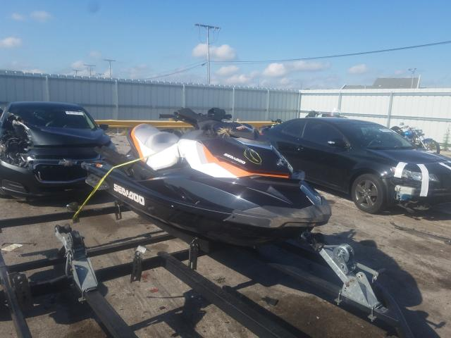 Salvage boats for sale at Dyer, IN auction: 2014 Seadoo RXP SEA DO