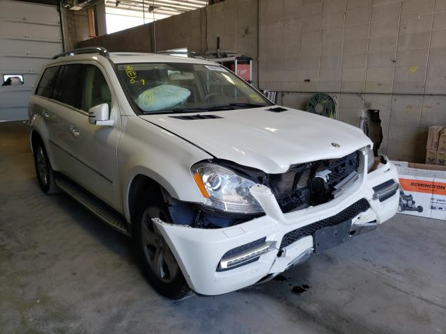 Salvage cars for sale from Copart Blaine, MN: 2012 Mercedes-Benz GL 450 4matic