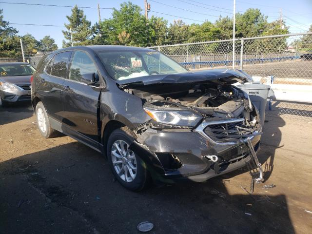 Salvage cars for sale from Copart Denver, CO: 2019 Chevrolet Equinox LT