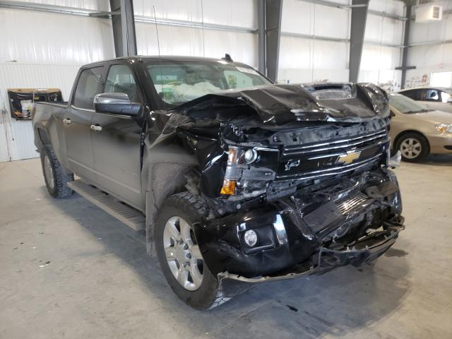 Salvage cars for sale from Copart Greenwood, NE: 2017 Chevrolet Silverado