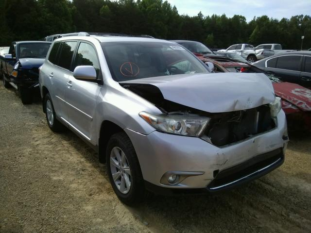 Salvage cars for sale from Copart Chatham, VA: 2013 Toyota Highlander