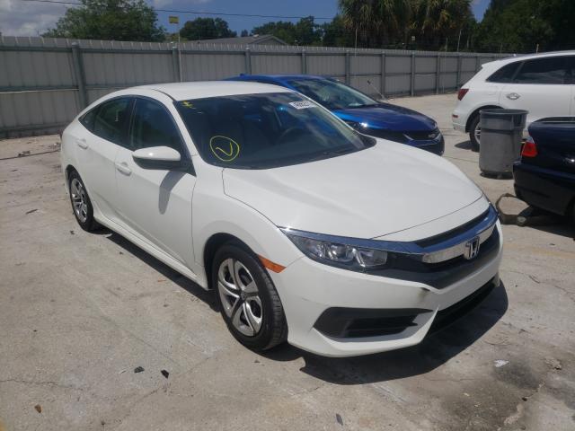 Salvage cars for sale at Punta Gorda, FL auction: 2018 Honda Civic LX