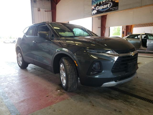 Salvage cars for sale from Copart Angola, NY: 2020 Chevrolet Blazer 2LT