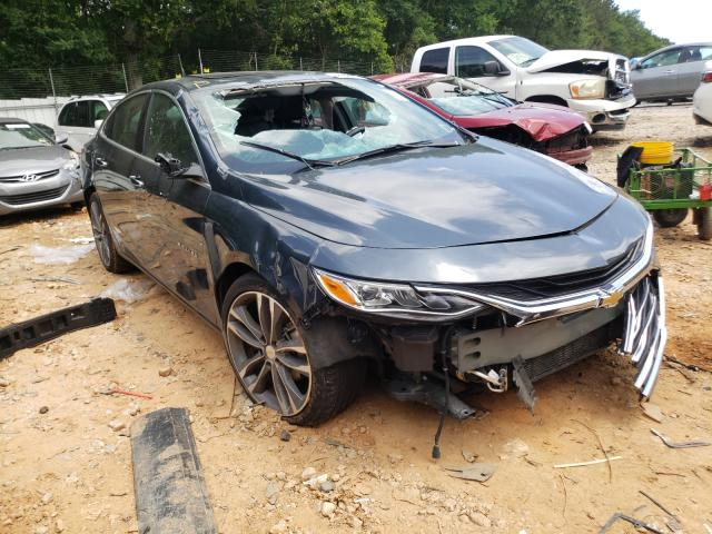 Salvage cars for sale from Copart Austell, GA: 2020 Chevrolet Malibu PRE