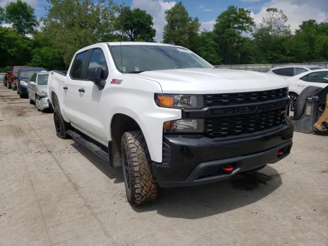 Salvage cars for sale from Copart Ellwood City, PA: 2019 Chevrolet Silverado