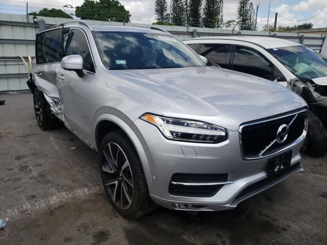 Salvage cars for sale at Miami, FL auction: 2019 Volvo XC90 T6 MO