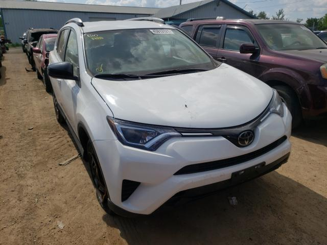 Salvage cars for sale from Copart Pekin, IL: 2018 Toyota Rav4 LE