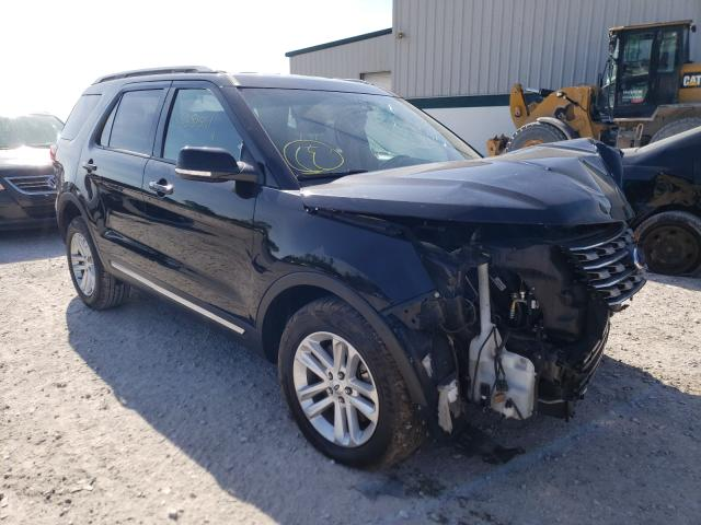 Salvage cars for sale from Copart Leroy, NY: 2016 Ford Explorer X