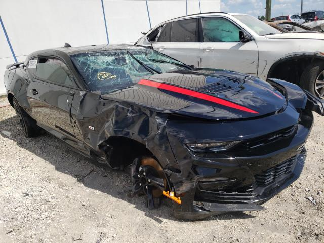 Salvage cars for sale from Copart Apopka, FL: 2019 Chevrolet Camaro SS