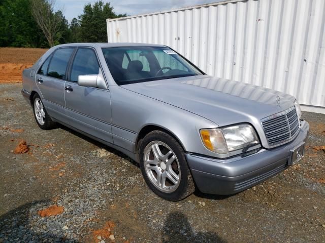 Salvage cars for sale from Copart Concord, NC: 1995 Mercedes-Benz S 500