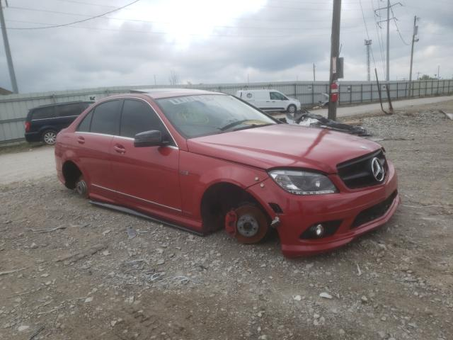 Salvage cars for sale from Copart Columbus, OH: 2010 Mercedes-Benz C 300 4matic