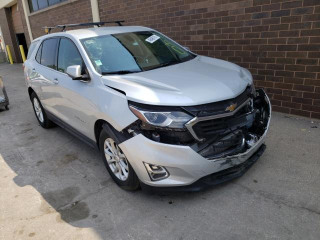 Salvage cars for sale from Copart Wheeling, IL: 2018 Chevrolet Equinox LT