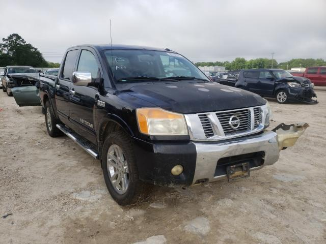 Salvage cars for sale from Copart Newton, AL: 2011 Nissan Titan S