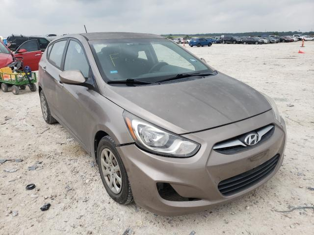 Salvage cars for sale from Copart New Braunfels, TX: 2013 Hyundai Accent GLS