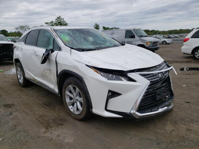 Salvage cars for sale from Copart Brookhaven, NY: 2017 Lexus RX 350 Base