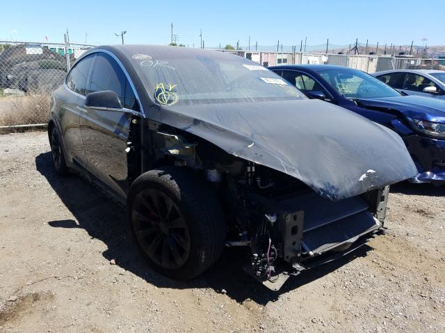 Salvage cars for sale from Copart San Martin, CA: 2018 Tesla Model X