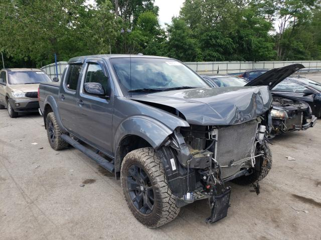 Salvage cars for sale from Copart Ellwood City, PA: 2018 Nissan Frontier S