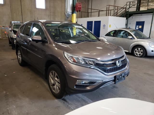 Salvage cars for sale from Copart Blaine, MN: 2015 Honda CR-V EX