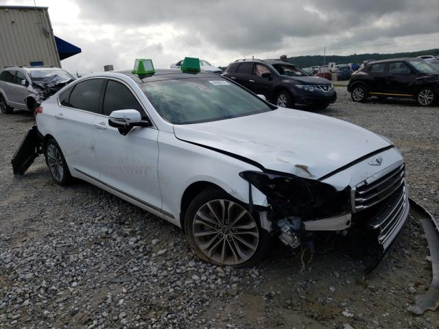 Salvage cars for sale from Copart Gainesville, GA: 2015 Hyundai Genesis 3
