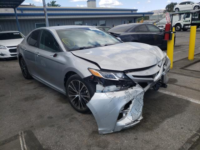 Salvage cars for sale from Copart San Martin, CA: 2018 Toyota Camry L