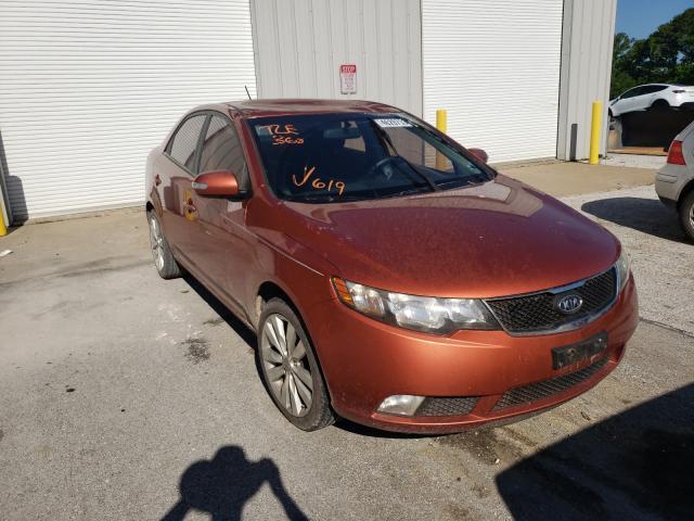 KIA salvage cars for sale: 2010 KIA Forte SX