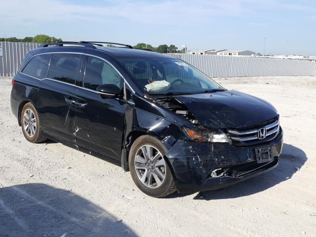 Salvage cars for sale at Greenwood, NE auction: 2014 Honda Odyssey TO