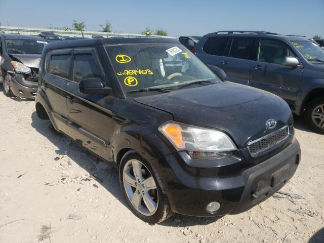 Salvage cars for sale from Copart Kansas City, KS: 2011 KIA Soul +