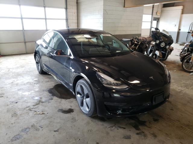 Salvage cars for sale from Copart Sandston, VA: 2020 Tesla Model 3