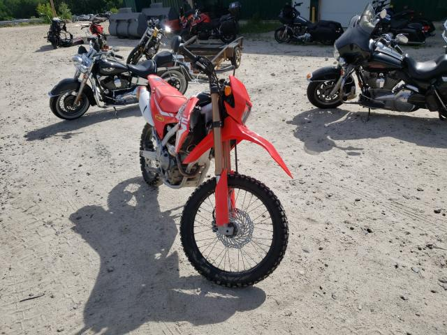 Salvage motorcycles for sale at Candia, NH auction: 2019 Honda CRF250 L