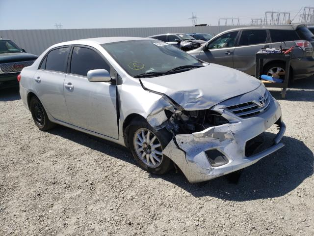 Salvage cars for sale from Copart Adelanto, CA: 2013 Toyota Corolla BA