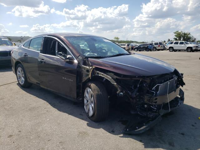 Salvage cars for sale from Copart Orlando, FL: 2021 Chevrolet Malibu LT