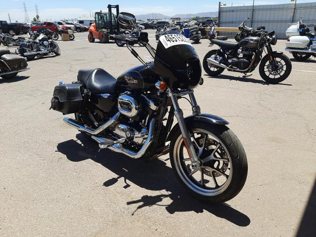 Salvage cars for sale from Copart Phoenix, AZ: 2015 Harley-Davidson XL1200 T