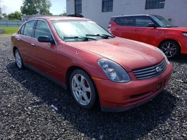 Infiniti salvage cars for sale: 2003 Infiniti G35
