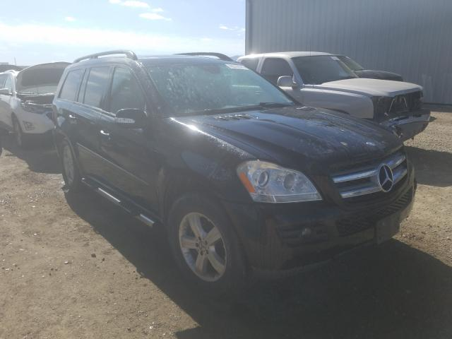 Salvage cars for sale from Copart Helena, MT: 2007 Mercedes-Benz GL 450 4matic