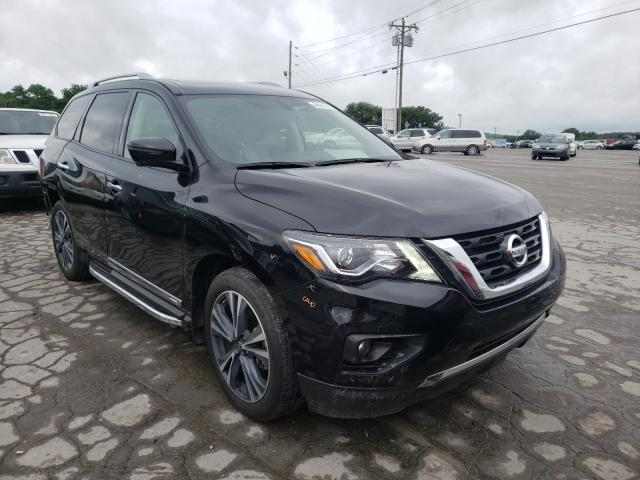 Salvage cars for sale from Copart Lebanon, TN: 2019 Nissan Pathfinder