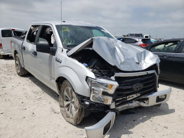 Salvage cars for sale from Copart Haslet, TX: 2017 Ford F150 Super