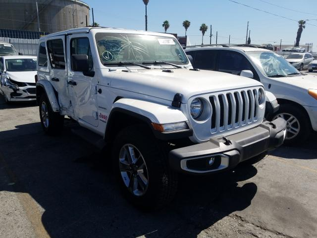 Salvage cars for sale from Copart Wilmington, CA: 2020 Jeep Wrangler U
